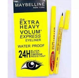 COD Eyeliner Waterproof 24H Eyeliner Spidol Black Hitam Waterproof thumbnail