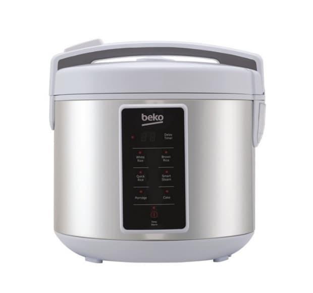 Beko Rice Cooker 1.8 Liter Type 3D RCJ47023S Silver