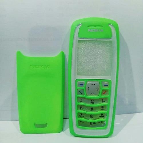 Casing Housing Nokia Jadul 3100 Hijau + Keypad