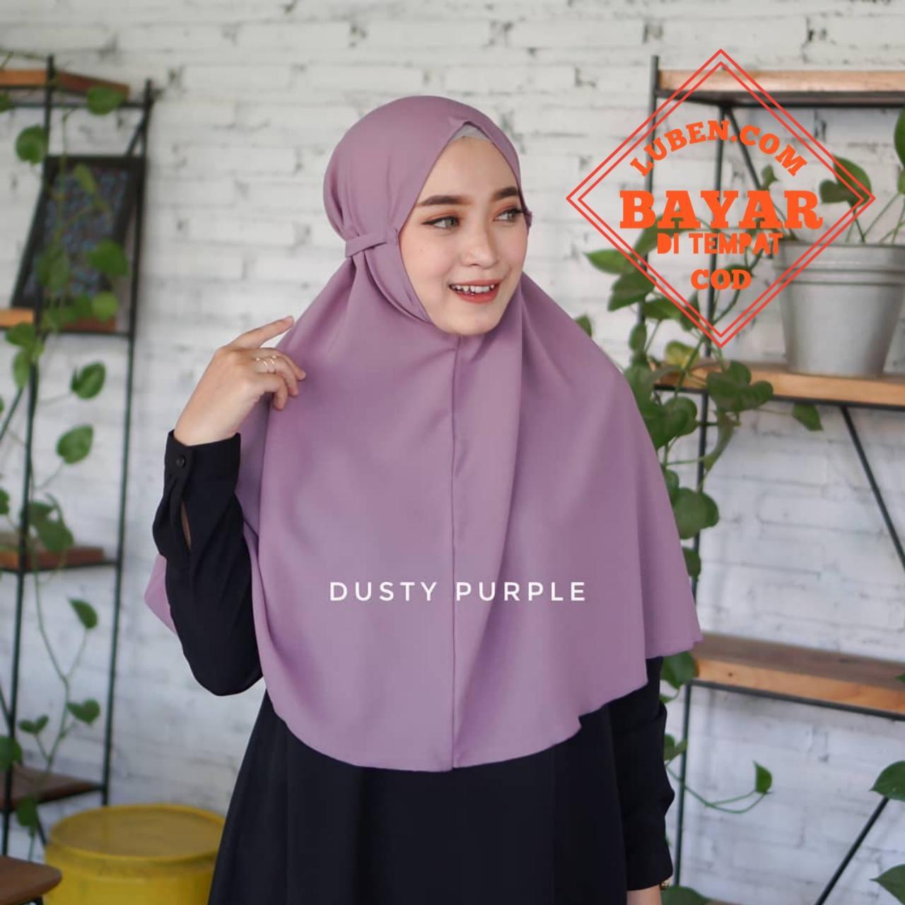 Hijab Bergo Maryam Tali Instan Bahan Diamond Italiano Kerudung Tali Silakan Di Order Barang Ready Warna Lengkap Lazada Indonesia