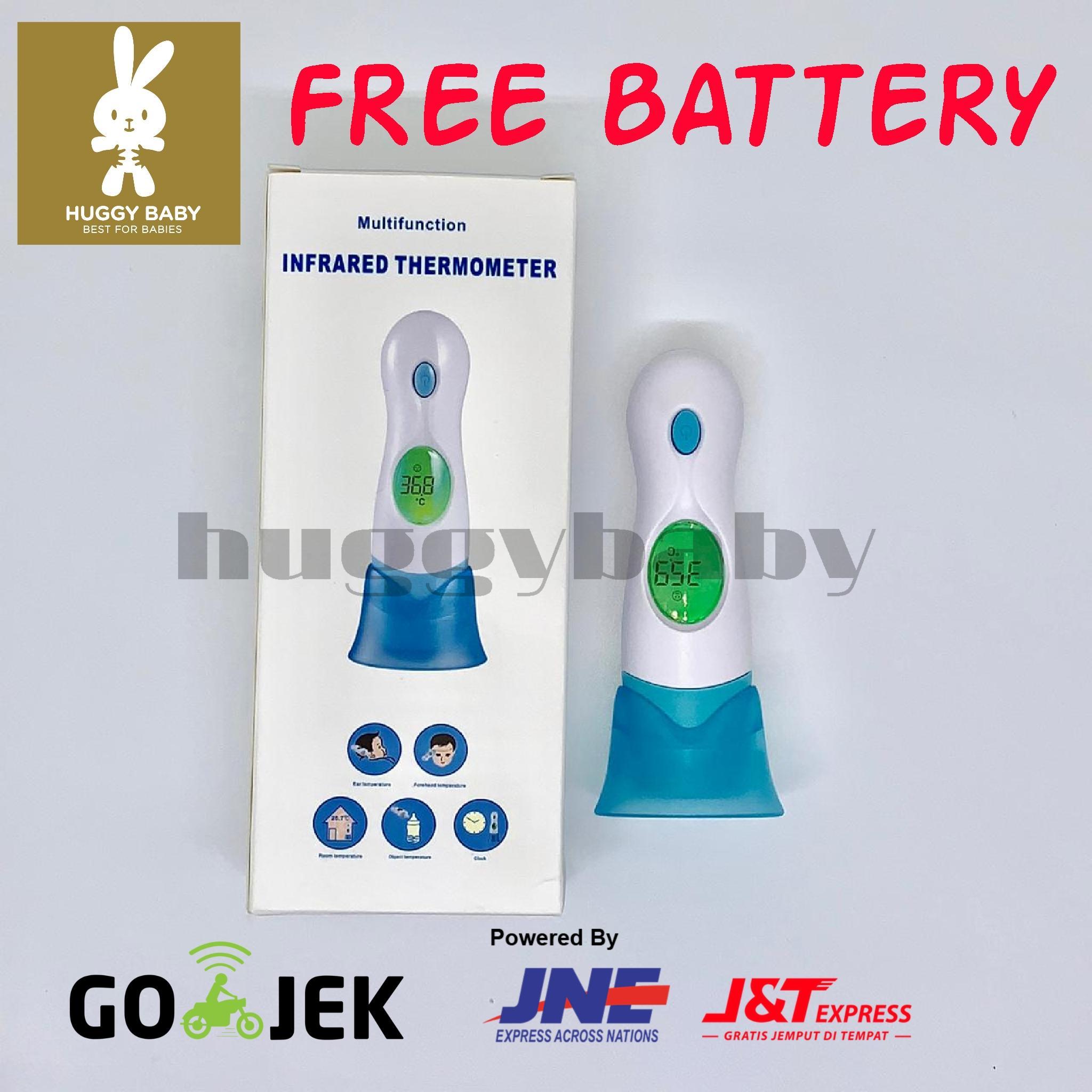 Termometer Infrared Thermometer Alat Pengukur Suhu Bayi Dan Dewasa By Huggy Baby.