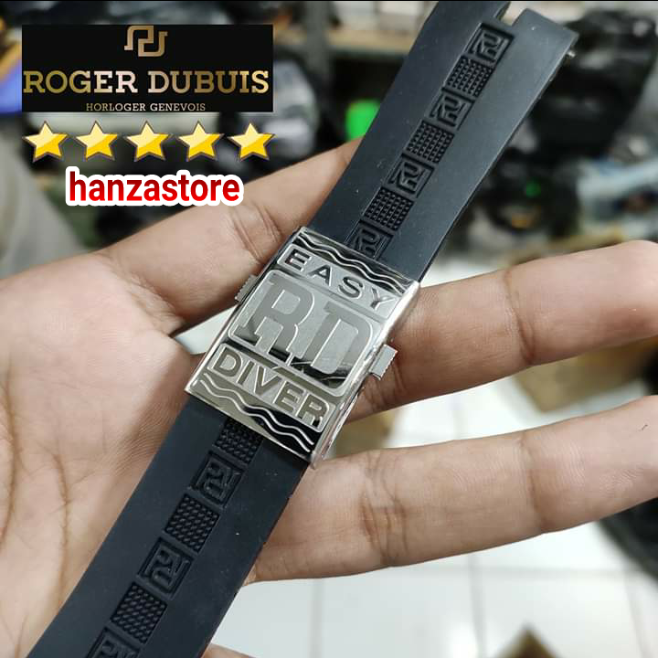 Strap watch Rubber Roger dubuis Rogerdubuis Easy Diver Tali RD