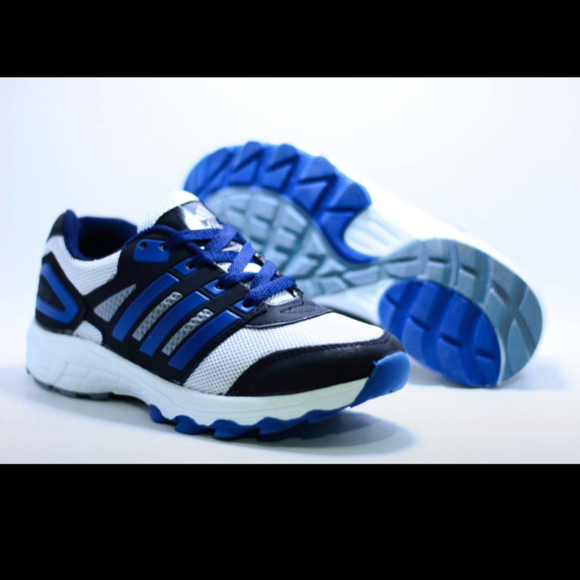 2d63a1a2cb49 Bavy Shoes Sepatu Sport Pria Adinova Neo Sepatu Sneaker Pria Adinova  Sepatu  Olahraga