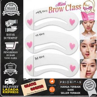 Mini Brow Class Cetakan Alis Isi 3 Pcs thumbnail