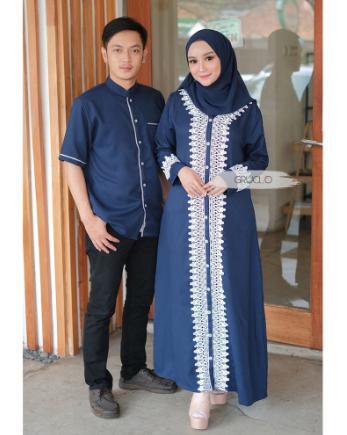 Betege Baju couple / Baju Pasangan / Gamis Couple / Baju Pesta Couple / Baju Muslim Couple / Kirana Couple