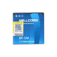 Wellcomm Battery Double IC BP-5M