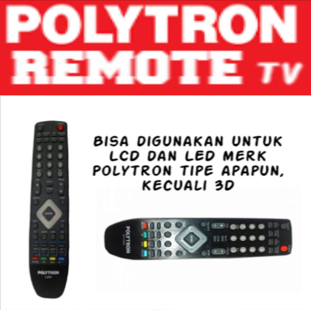 POLYTRON - Remote TV POLYTRON Original 100% LCD LED