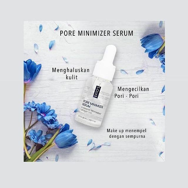 Ertos Pore Minimizer Serum Pengecil Pori Pori Bopeng Lazada
