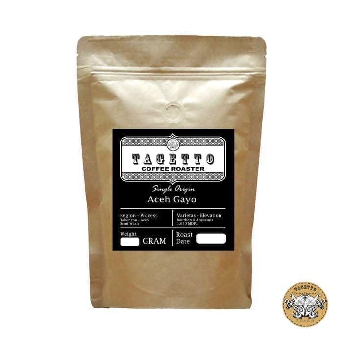KOPI ARABIKA ACEH GAYO 250GR BIJI / BUBUK SPECIALTY ARABICA COFFEE - BIJI KOPI