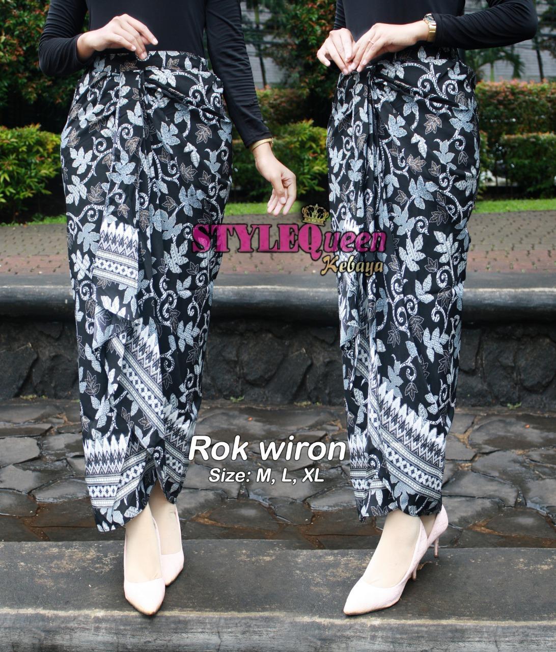Rok Lilit Batik Wanita Long Skirt 1 Ukuran All Size Besar Kecil Bisa Pake Fit To Xxxl