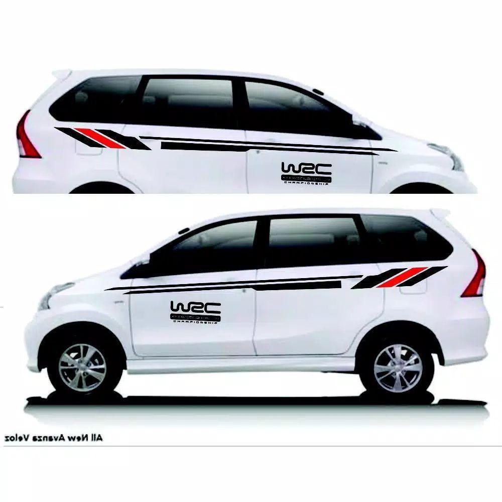 31+ Trend Cutting Sticker Mobil Avanza Merah Terbaru ...