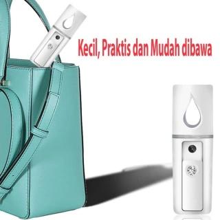 Spray Perawatan Wajah Mini Portable USB Mist Sprayer Pelembab Moisturizing Water Uap Alat Semprot Wajah Spray wajah Untuk Make up Tahan Lama - Spray Wajah Glowing - Spray Wajah Elektrik - Alat Semprot Penyegar Wajah - Alat Semprot Pelembab Wajah thumbnail