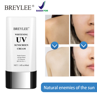 BPOM BREYLEE UV Whitening Sunscreen Cream 40ml thumbnail