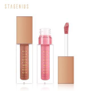 STAGENIUS Glitter Lip Gloss Bibir Waterproof Shimmer Make Up Batom Lipgloss 1