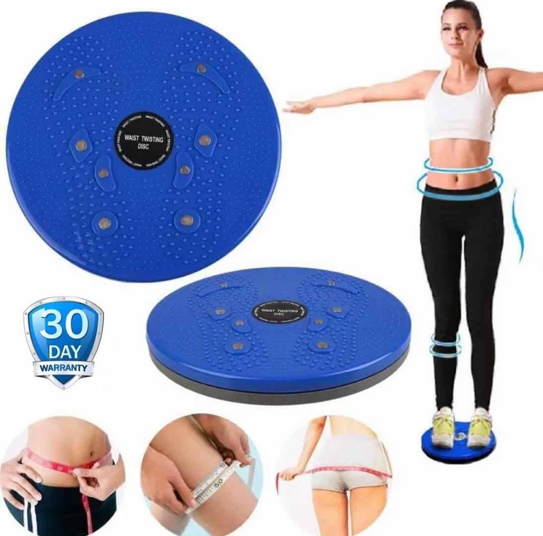 Jogging-Alat Pijat Kaki Alat Olahraga Pelangsing Perut Magnetic Tummy Trimmer Jogging 1 Pcs