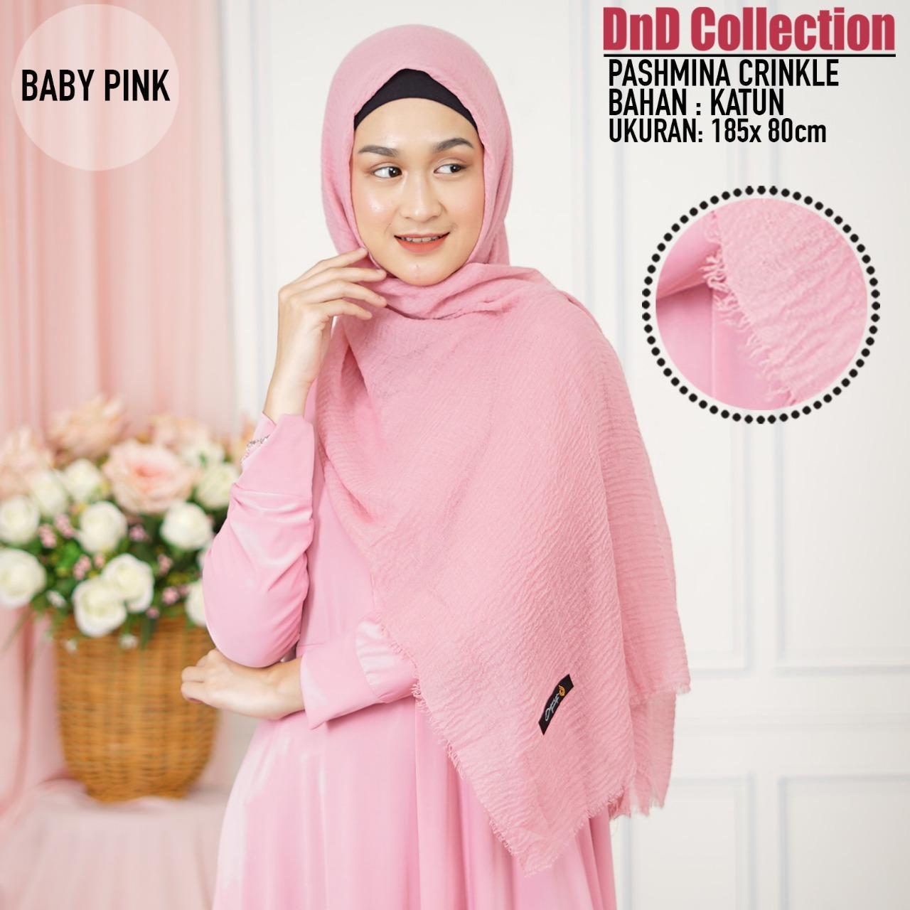 DnD-(COD) Promo Hijab Pashmina Crinkle Rawis/ Jilbab Pashmina Crinkle