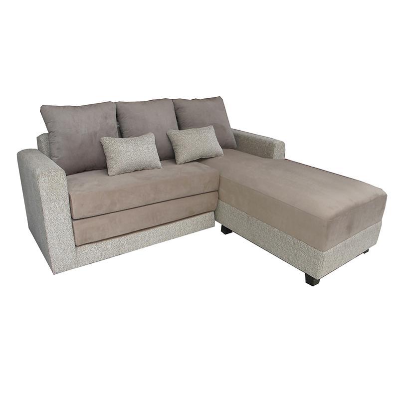 Creova Sofa L bed Pandora Cream - Khusus JABODETABEK