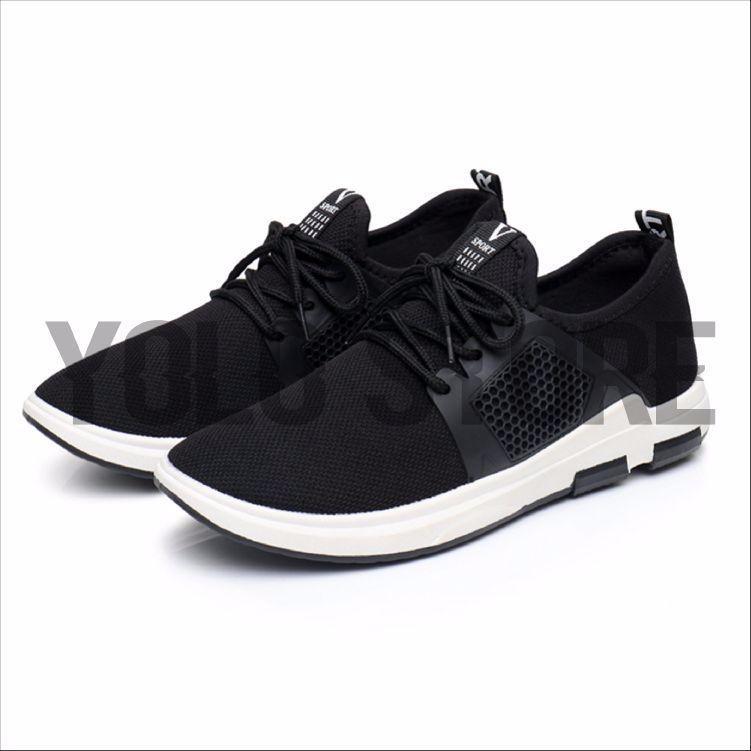 Sepatu Sneakers Sport Running Pria Import + Box 6a2a84b5f9