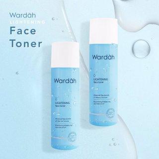 Wardah Lightening Series Face Toner with Advanced Niacinamide 125 ml - Facial Toner - Toner Wajah - Penyegar Wajah - Skincare Wajah - Perawatan Kulit thumbnail