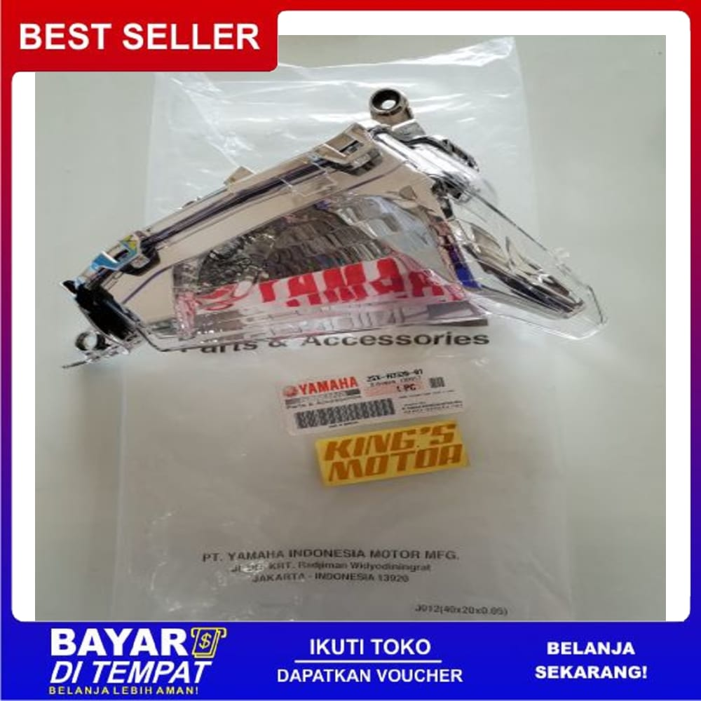 Best Seller lampu sen, sein SOUL GT 125 (2SX,LED) DEPAN KANAN asli yamaha || Rantai & Gir Motor || km 100% Original
