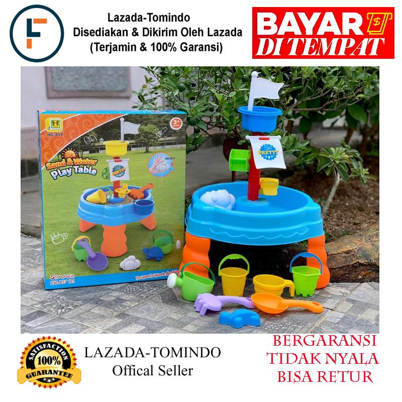 Tomindo Mainan Meja Pasir Sand Water Play Table Hg849 / Mainan Anak / Mainan Edukasi By Tomindo.