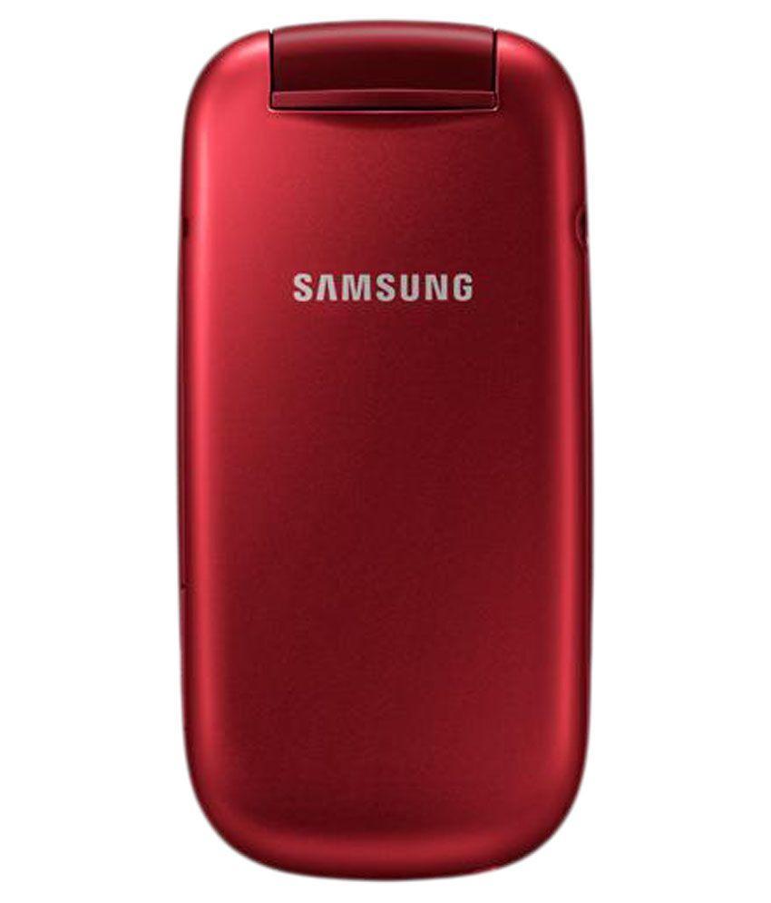 Samsung GT-E1272 Caramel Flip Dual SIM Camera Refurbish Samsung Lipat