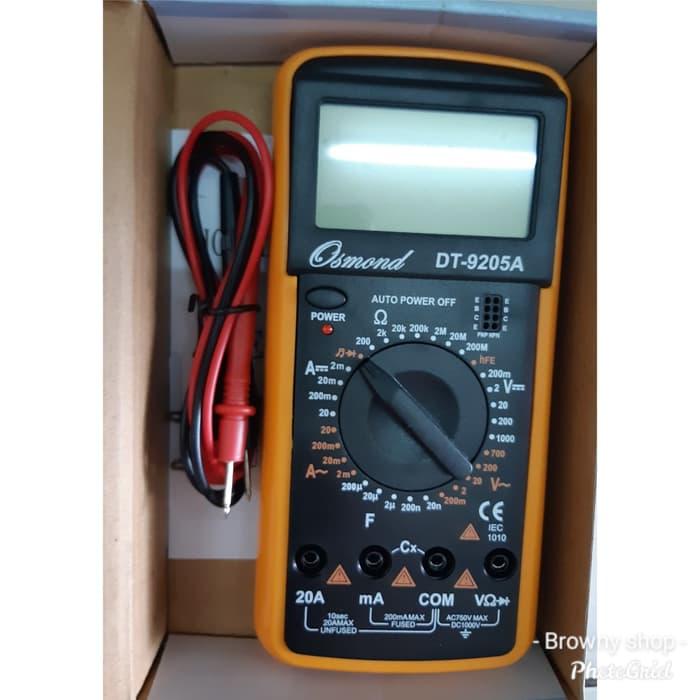 Multi meter / Multi Tester / Ovo meter Digital besar