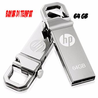 Flashdisk HP 64GB v250w / USB Flashdisk 64 GB / Flash Disk Flash Drive - Silver