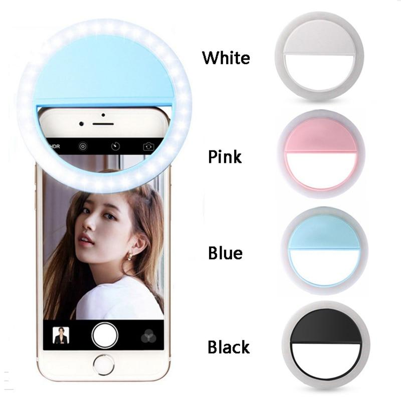 Lampu Selfie Led Ringlight Flash Photography 36 Led Lamp Ring Light Charger Portable Clip Light Live Show - Random By Health And Beauty Solution