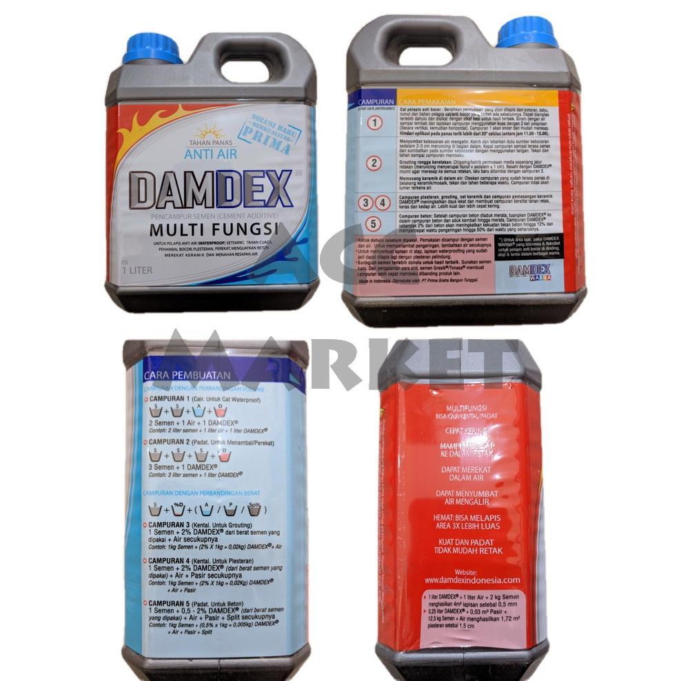Damdex Pengeras Beton Anti Air Penambal Bocor Waterproofing Lazada Indonesia