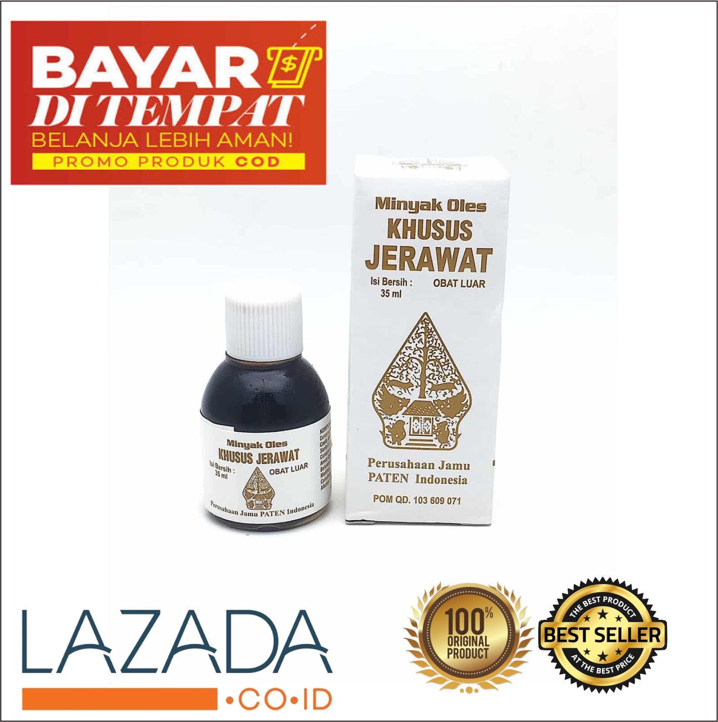 Minyak Oles Wayang Khusus Jerawat 35ml / Obat Jerawat Cap Wayang / Penghilang Jerawat Obat Bisul Bpom - 1 Pcs By Oleholehyk.