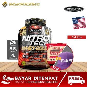 MuscleTech Nitrotech Whey Gold 5,5 Lbs ..