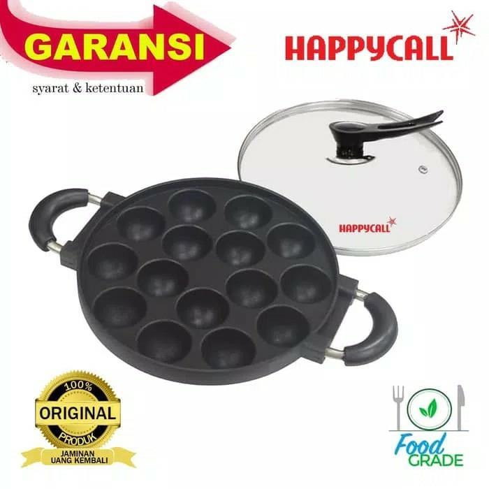 RAMA JAYA SHOP - 15 Lubang Snack Maker Happy Call Cetakan Takoyaki