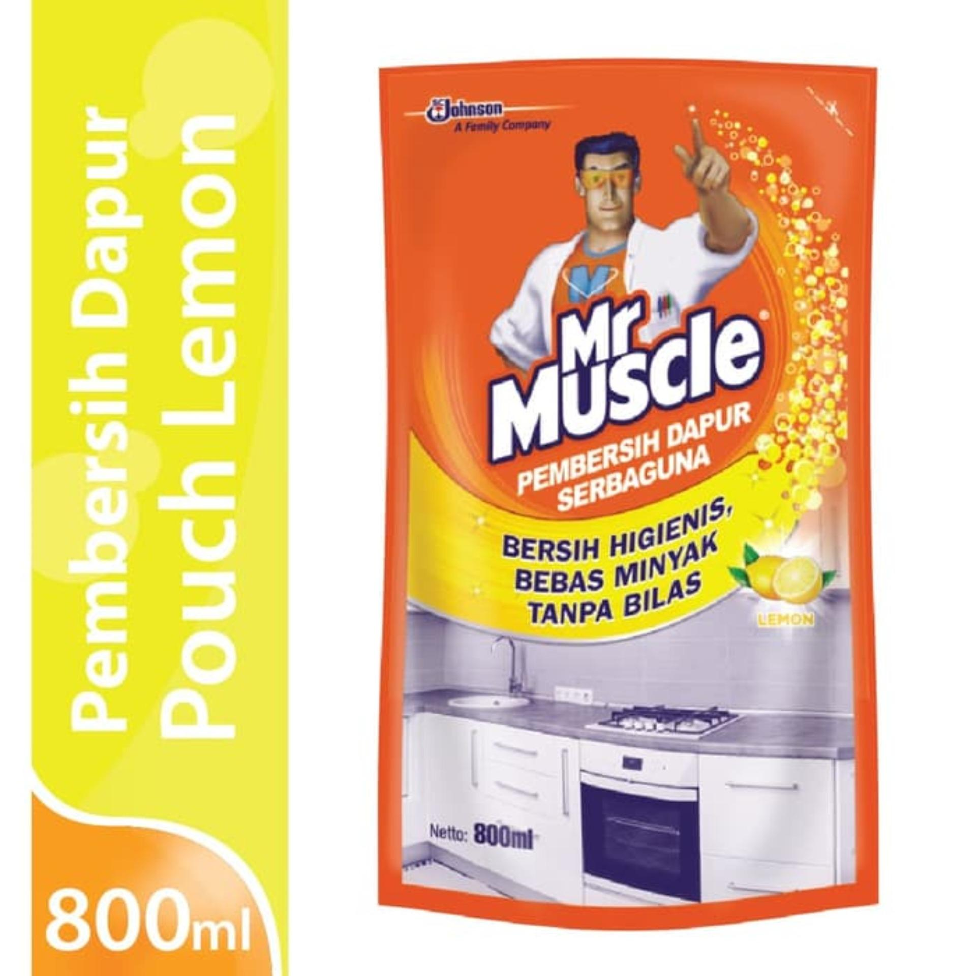 Mr. Muscle Kitchen Lemon Pouch 800ml By Sc Johnson & Son Id.
