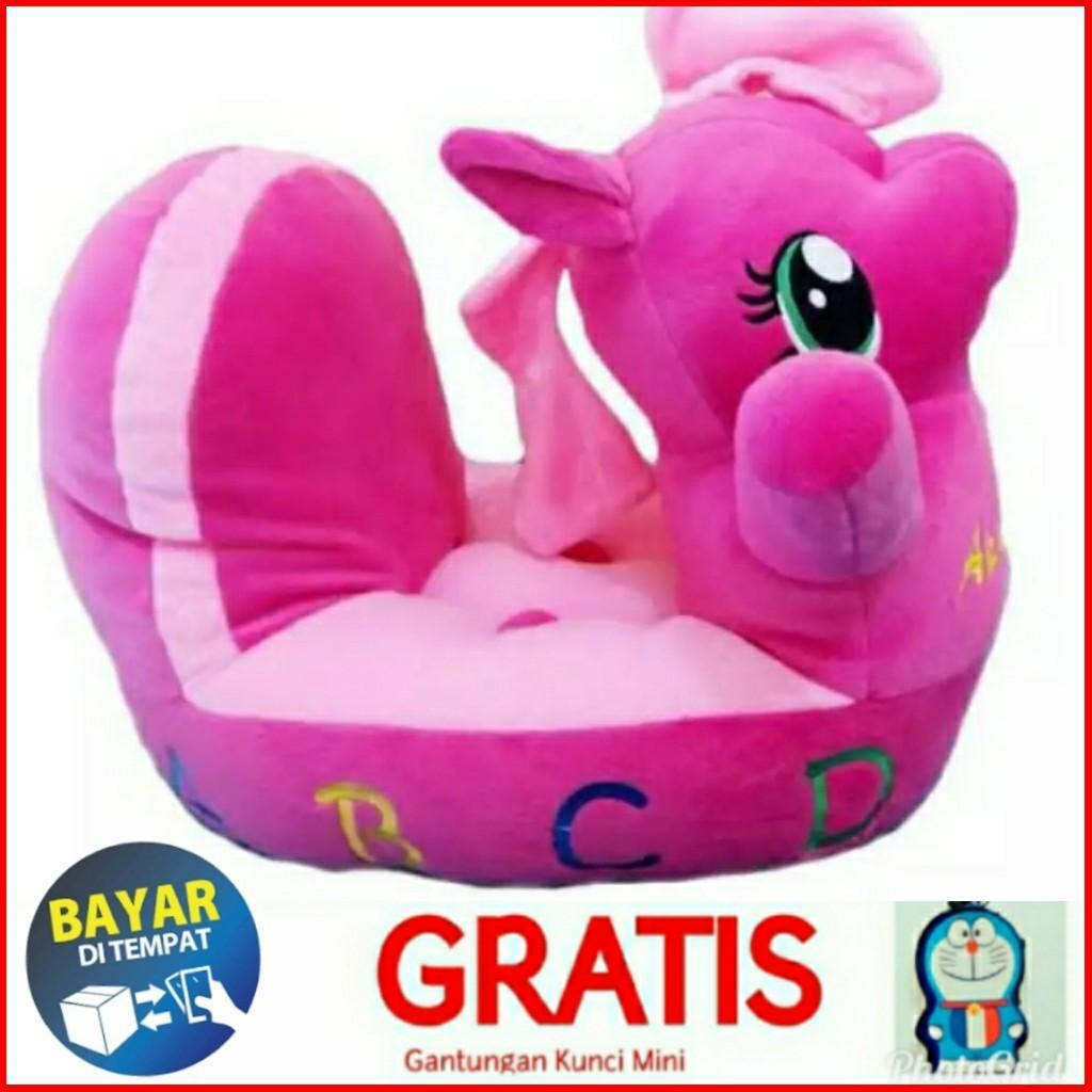 Family Boneka Sofa Odong-Odong Pony Pink By Family Online Shop.
