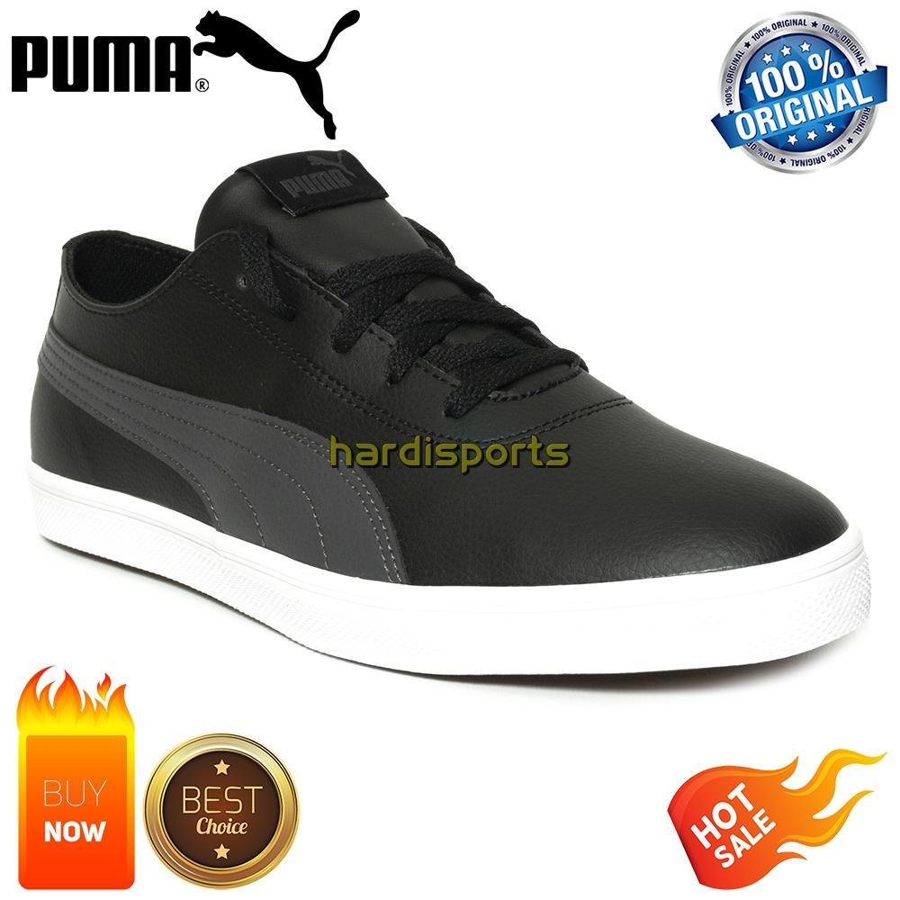 Sepatu Sneaker Pria Puma Urban SL 365257-01 - Black 39d59c8811