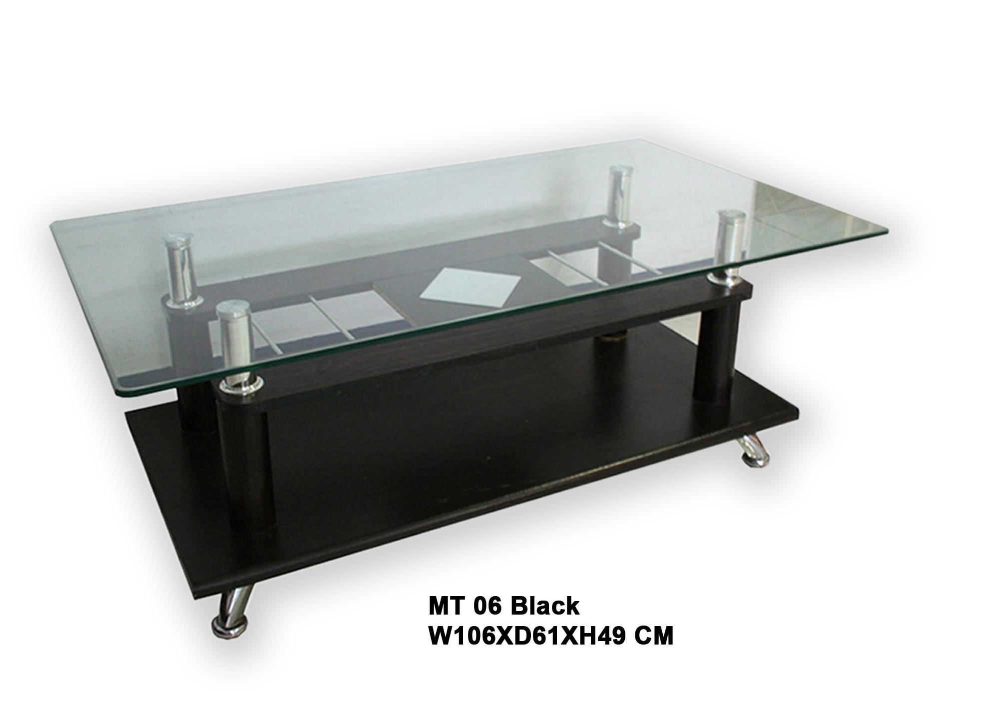 Dongsun Coffee Table/Meja Tamu MT 06 Black