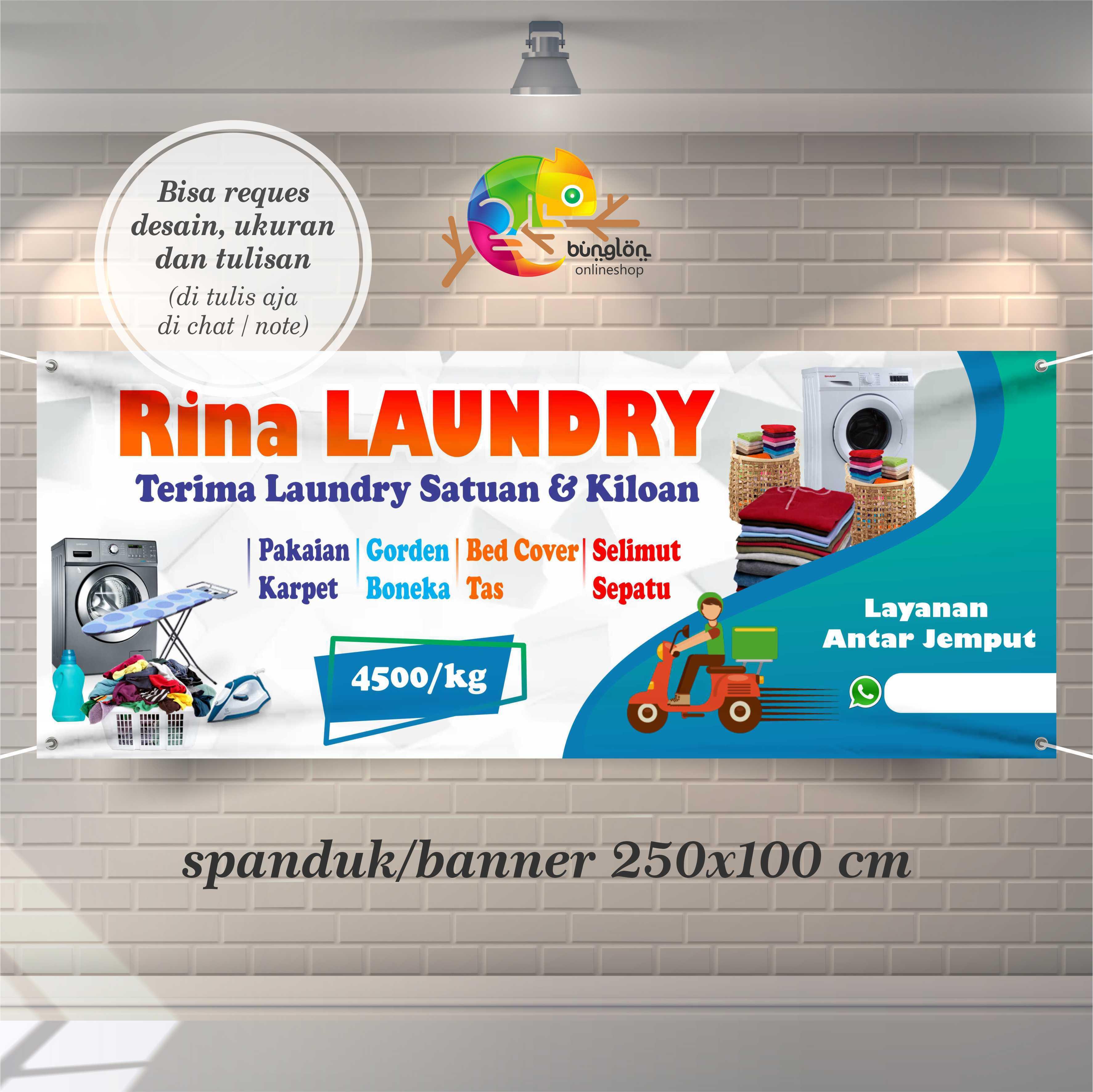 Jual Banner Spanduk Laundry Terbaru Lazada Co Id