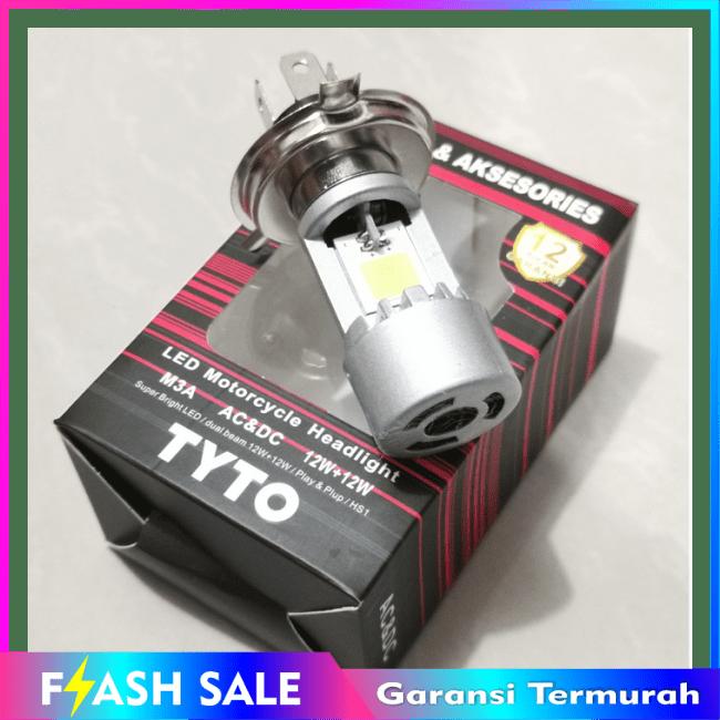 COD!! BARU!!LAMPU DEPAN LED HS1 TYTO ASLI VIXION CB150R NMP R15 SCOOPY FI DLL || Lampu Motor || LMtrDB