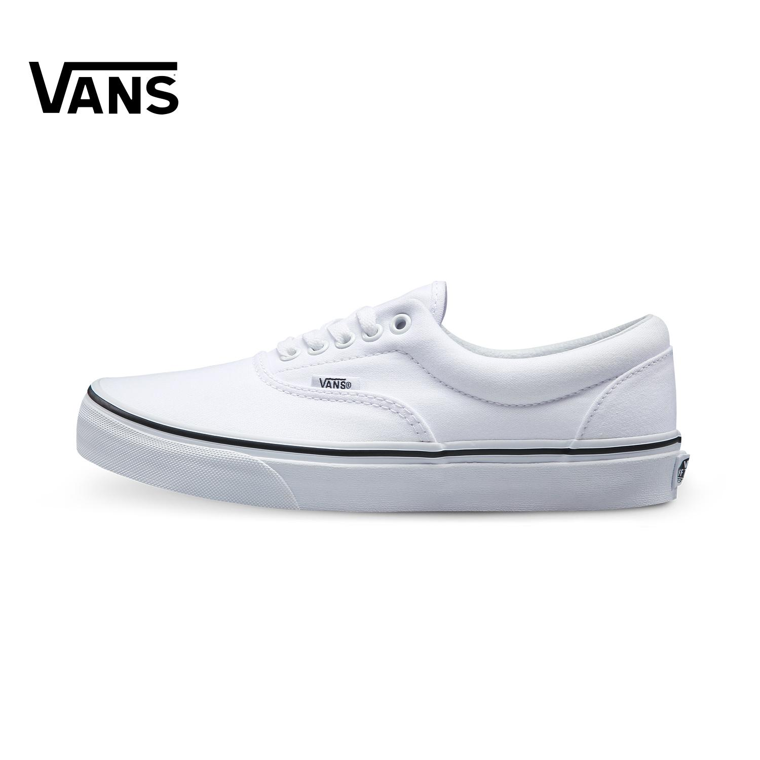 d6cb1dae15b9 Malaysia. Vans Men s Shoes Low Top Classic Style Era Canvas Shoes  BLACK WHITE Couples VN-0EWZBLK Vans