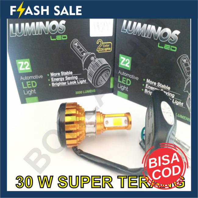 BAYAR DI TEMPAT!!Lampu Motor LED Honda Beat ESP FI LUMINOS Z2 2 Warna Putih dan Kuning || Lampu Motor || Bhid2