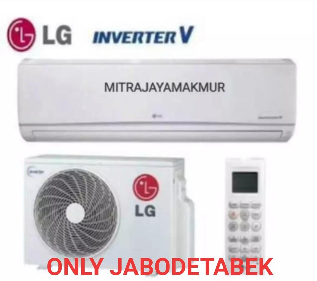 Ac LG 0.5PK T06EV4 DUAL COOL ECO INVERTER Active Energy Control