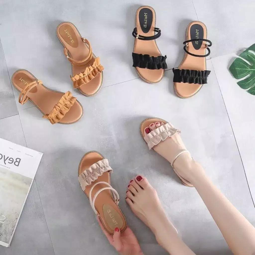 Sandal Templek Sandal wanita sandal korea sandal du06 1168ab9975