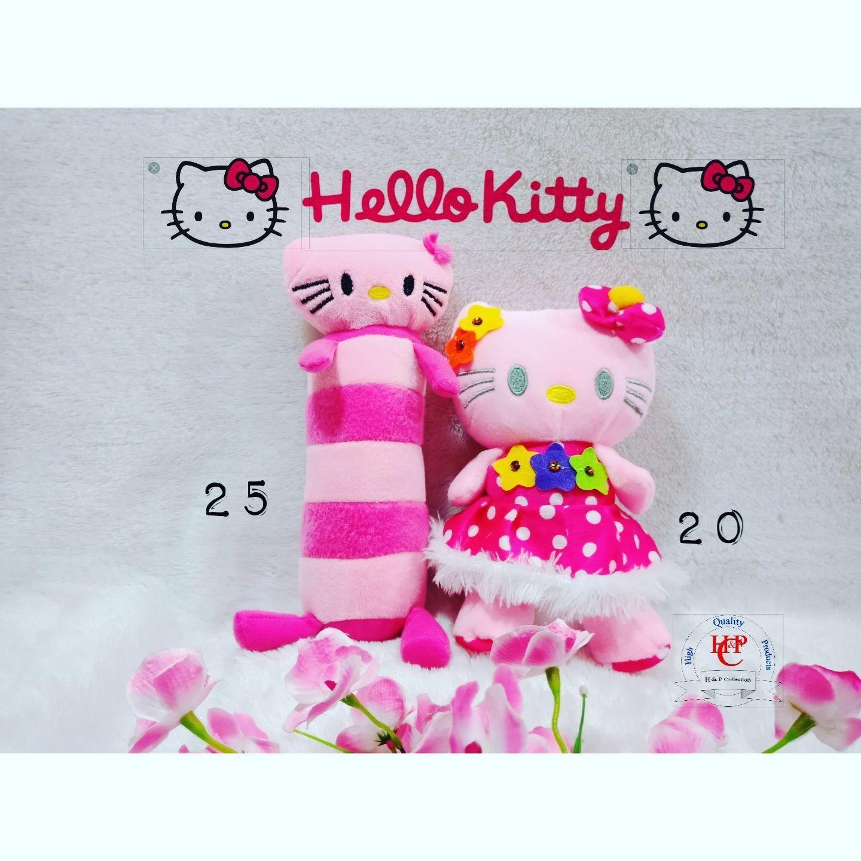 Boneka S + Guling Hello Kitty Sepaket By H&p Collection.
