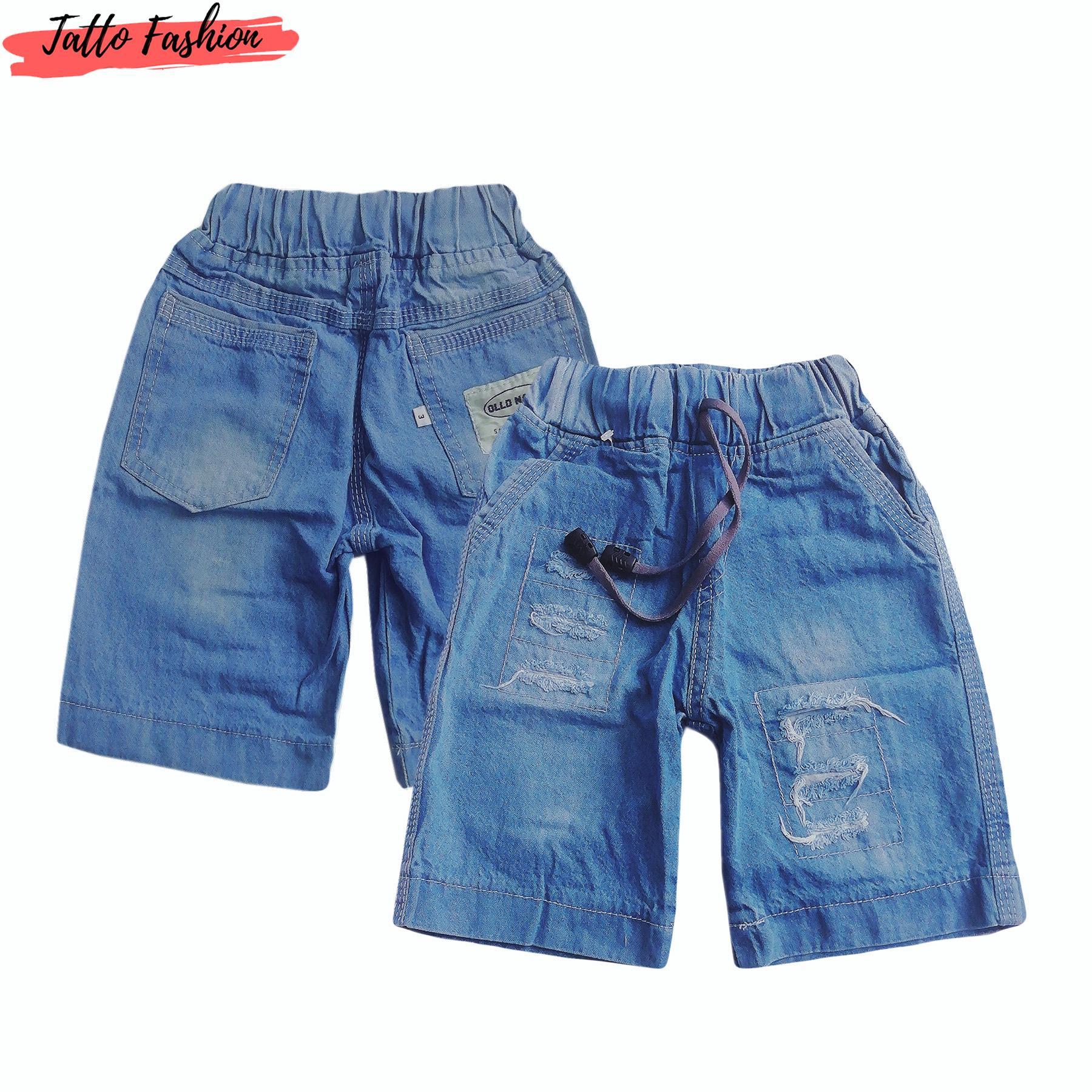 Celana Short Jeans Ripped Untuk Anak
