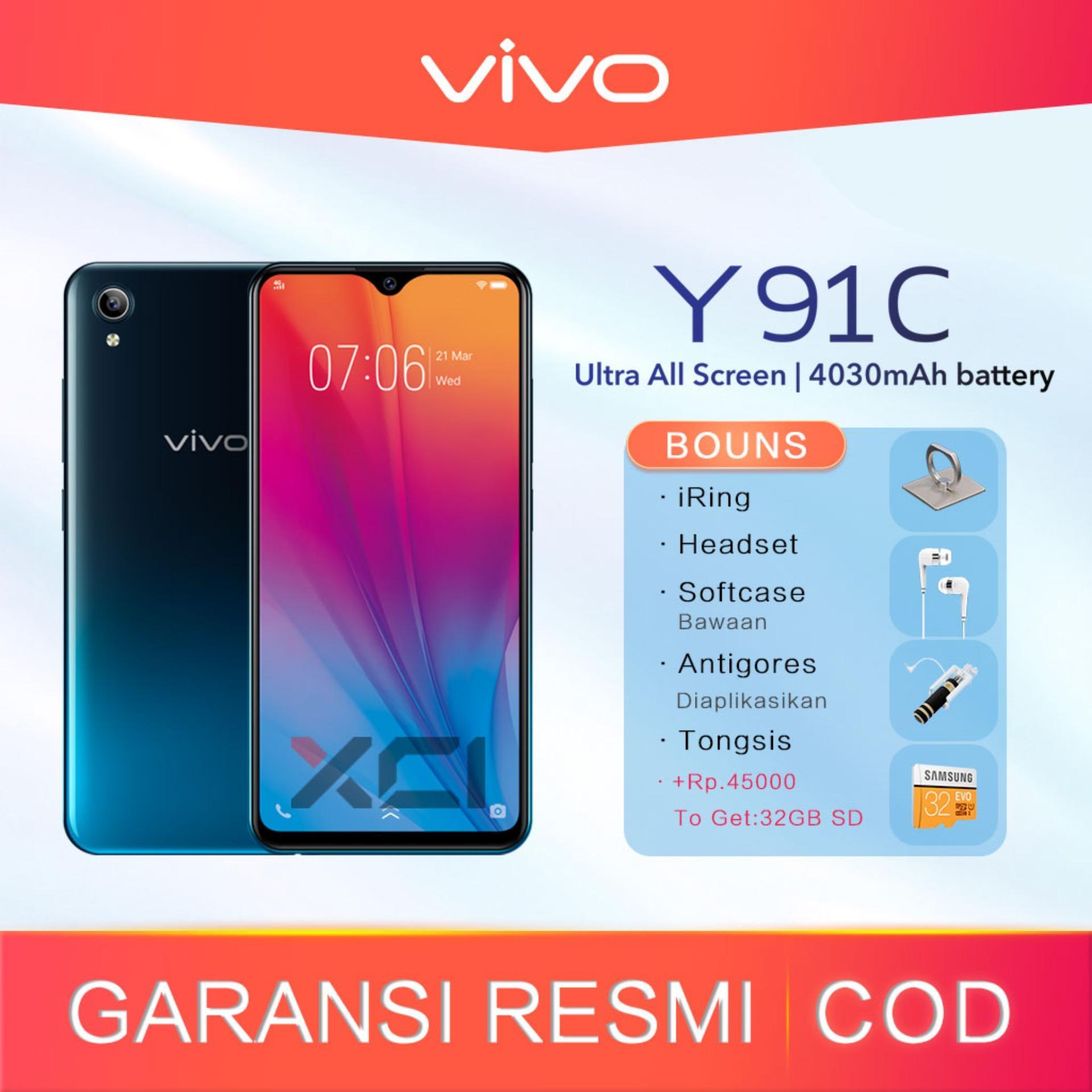 Vivo Y91C Ram 2GB/32GB -Garansi resmi. Original