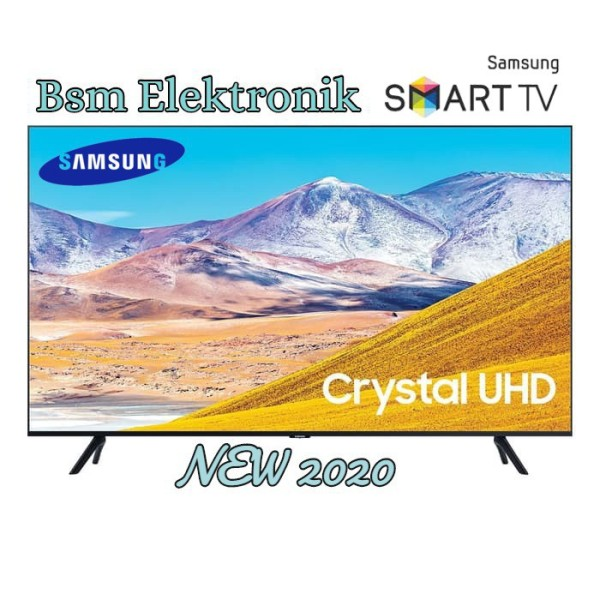 43TU8000 SAMSUNG SMART TV LED 43inch WIFI - USB MOVIE - HDMI - Khusus JADETABEK - GRATIS ONGKIR