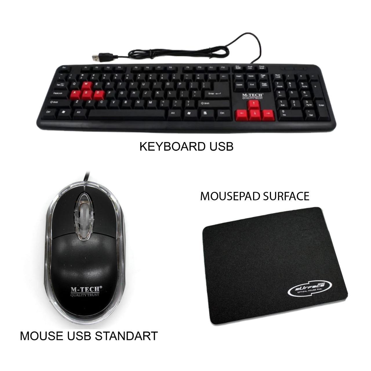 Keyboard Usb For Pc Komputer Laptop Paket Murah By Best Elektronik & It.