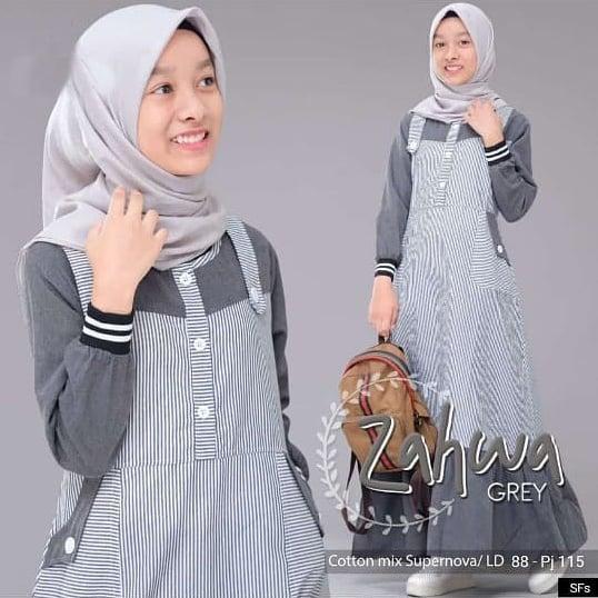 Zahwa Dress Baju Gamis Anak Prempuan Gamis Anak Murah Baju Muslim Anak Baju Gamis Anak Gamis Anak Perempuan Gamis Anak Terbaru Gamis Anak Tanggung Lazada Indonesia