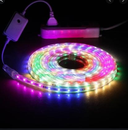 Lampu LED STRIP SELANG 3528 2835 10M 220v 10 M METER 5050 OUTDOOR RGB / Tokobelanja